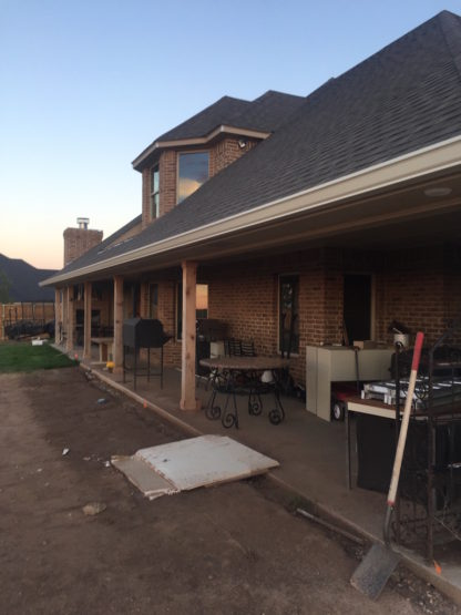 Rain gutters for steep roof in amarillo tx