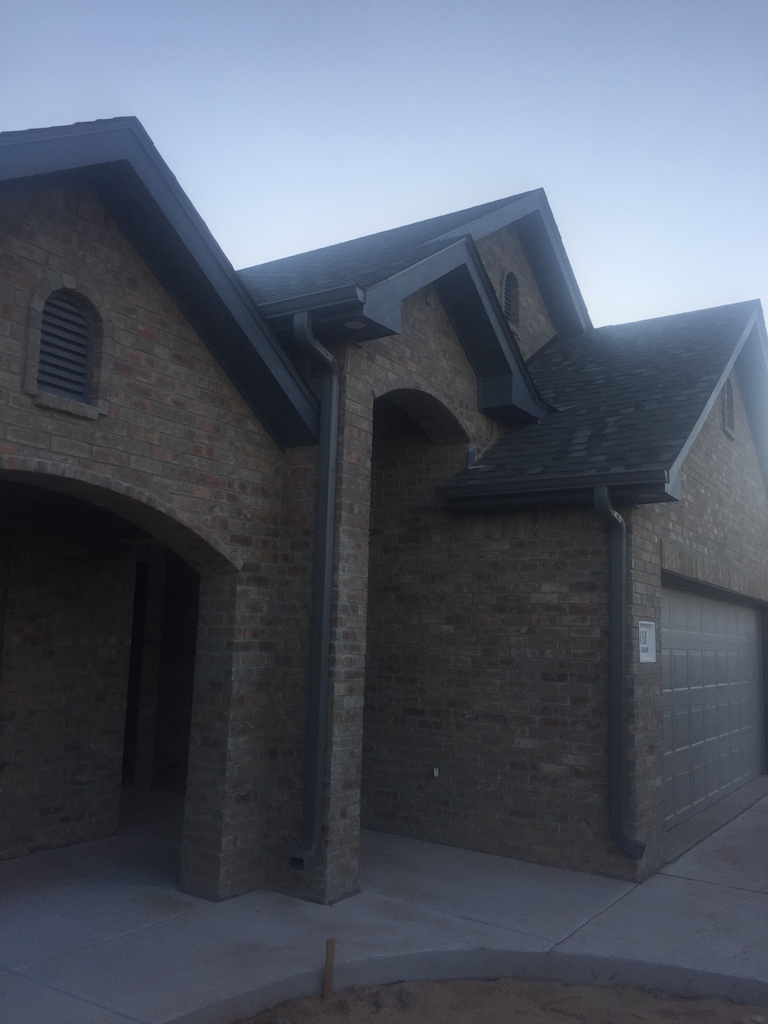 Projects Gutter Installation In Amarillo New Vision