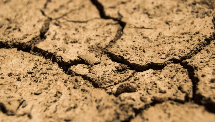 take care of gutters during a drought