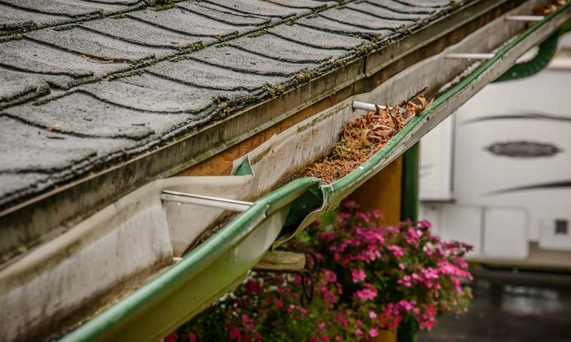 old gutters